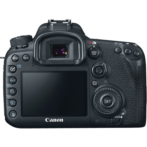Canon 7D Mark II Body EOS DSLR Camera View 2