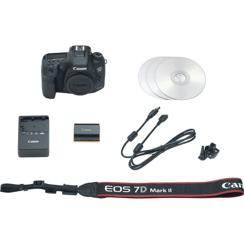 Canon 7D Mark II Body EOS DSLR Camera View 4