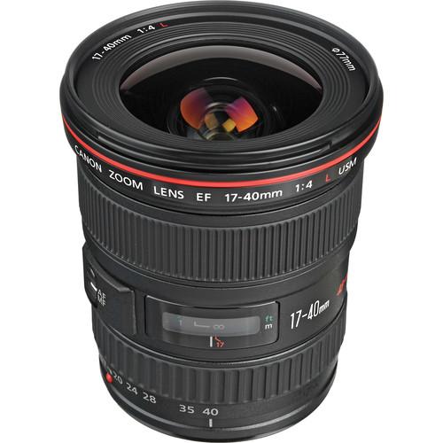 Canon EF 17-40mm f-4L USM Lens