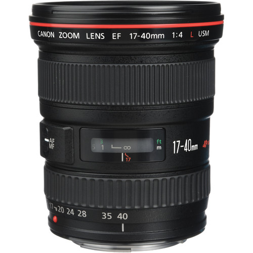 Canon EF 17-40mm f-4L USM Lens View 2