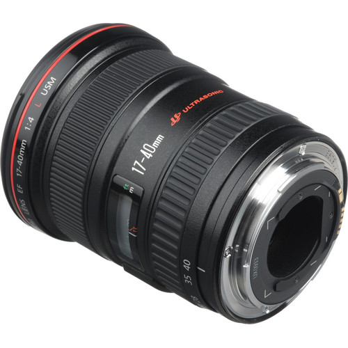 Canon EF 17-40mm f-4L USM Lens View 3