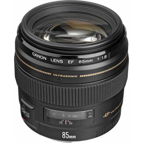 Canon EF 85mm f1.8 USM Lens View 3