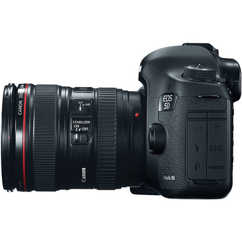 Canon EOS 5D Mark III DSLR Camera with 24-105mm Lens View 2