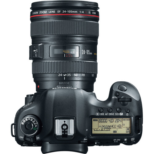 Canon EOS 5D Mark III DSLR Camera with 24-105mm Lens View 3
