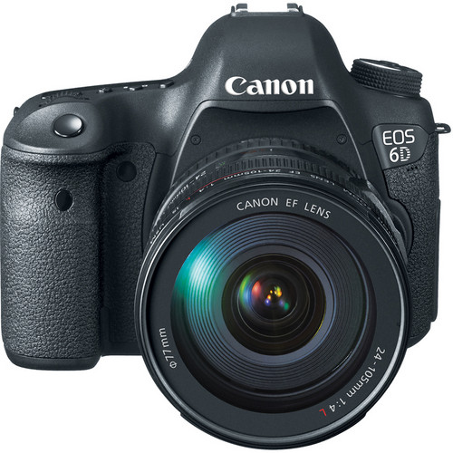 Canon EOS 6D WG DSLR Camera with 24-105mm f/4L Lens