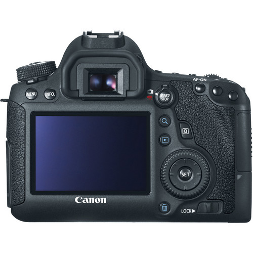 Canon EOS 6D WG DSLR Camera with 24-105mm f4L Lens View 3