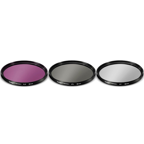 52MM Wide Angle Lens Macro, UV CPL FLD Filter Kit for Nikon D5200 D5300 D90 D80 View 2