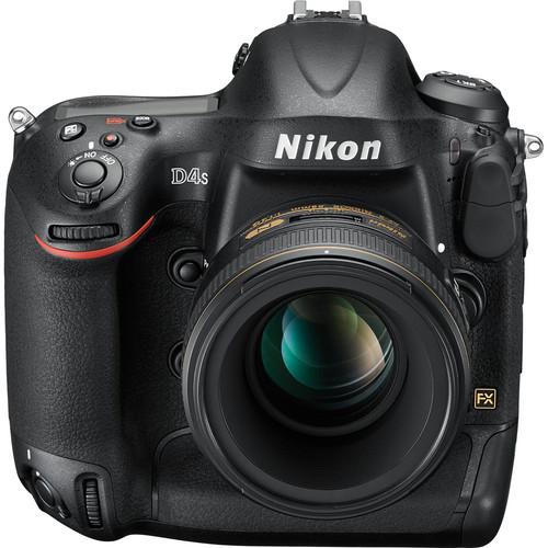 Nikon D4S DSLR Camera View 2
