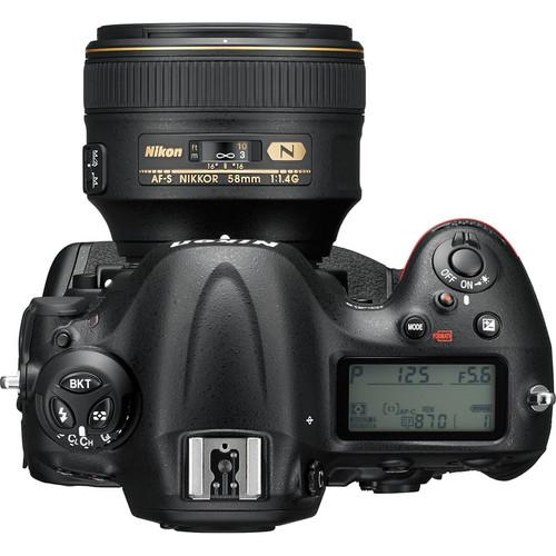 Nikon D4S DSLR Camera View 4