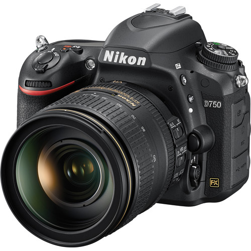 Nikon D750 DSLR Camera with 24-120mm Lens View 2
