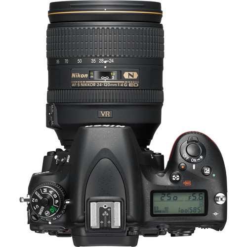 Nikon D750 DSLR Camera with 24-120mm Lens View 4